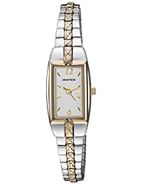 Armitron Women's 753415CHTT NOW Two-Tone Stainless Steel Expansion Bracelet Dress Watch
