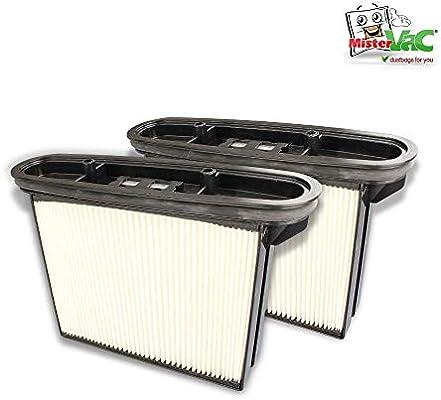 2 x Cartucho de filtro adecuado Baier BSS 406 – Aspirador en ...