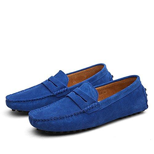 Conducción de para Zapatos de Suede y y Gran Tamaño Hombre Slip Zapatos Color de Spring Ons Mocasines Comfort Tamaño Carrera Casual Oficina K Fiesta de Fall 42 Oqqdvw