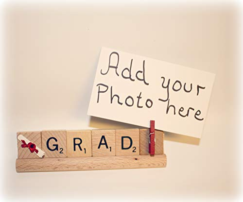Grad Gift, Grad Photo, Grad Frame, Grad Present Topper, Diploma Graduation, Senior High School, College Grad Gift