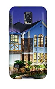 IwmKowv1569ZzHsl Case Cover House Galaxy S5 Protective Case