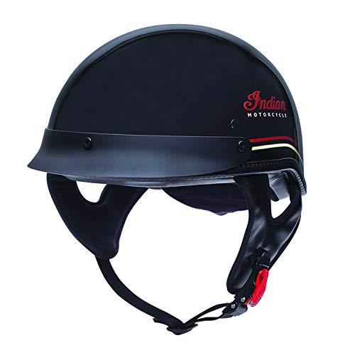 (Indian Motorcycle Pinstripe Half Helmet - Medium)