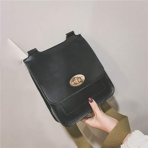 Main Femmes Faux Cuir Petite Messager En De Pochette Noir Sac Sacs Feixiang Et Embrayages Embrayages Élégantes Véritable Vintage À 7A4Spq