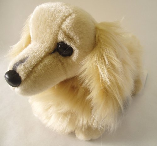 Miniature Dachshund S cream by Oriental Toy