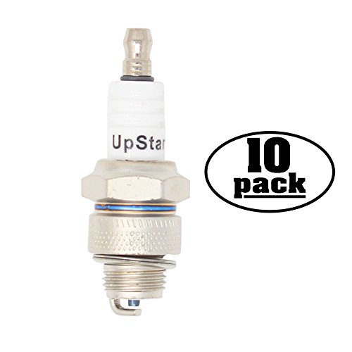 10-Pack Compatible Spark Plug for STIHL Lawn & Turf Equipment Auger, Drill with 08S Power Heads - Compatible Champion L82YC & NGK BP6HS Spark Plugs -  UpStart Components, SP-L82YC-10PK-DL169