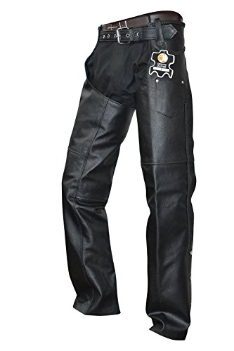 Leather Motorcycle Chaps For Men - 3