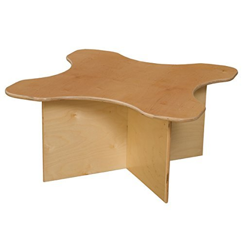 Wood Designs WD21810 Tot Transition Table, 15 x 30 x 30'' (H x W x D)