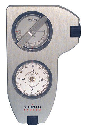 Suunto Tandem Inclinometer/Compass 2-In-1 Precision Satellite Tools For Slope/Height Measurement by MCM (Image #1)
