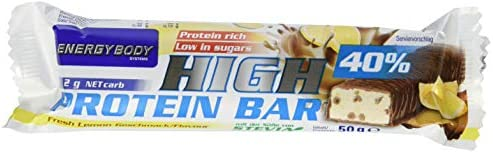 Energybody High Protein Bar - Fresh Lemon, (24 x 50 g)
