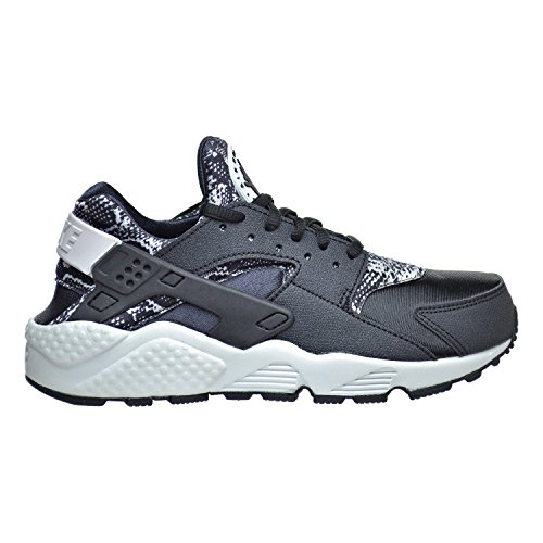 Nike WMNS Air Huarache Run Print, Women's Sneakers Black/Pure Platinum