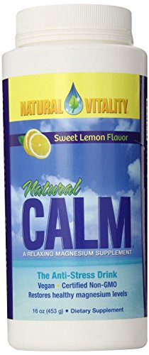 Natural Vitality Natural Calm Lemon - 16 oz (Pack of 2) Natural Vitality Calm Lemon