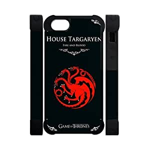 Vintage Retro Creative Game of Thrones House Targaryen Apple Iphone 5S/5 Case Cover Dual Protective Polymer Cases HD pic Picture by ruishername