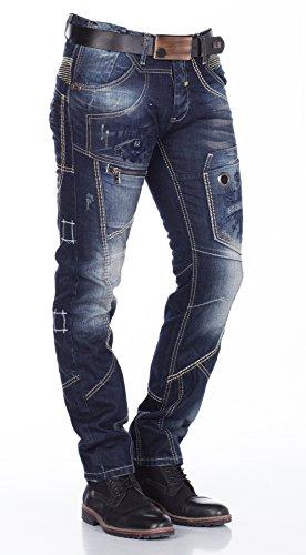 Cipo & Baxx Jeans Regular Fit (Azul) vaquero azul oscuro