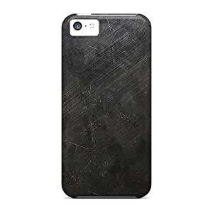 Brand New 5c Defender Case For Iphone (scratched Iron Dark)