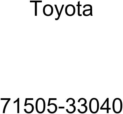 TOYOTA Genuine 71505-33040 Seat Back Pad Sub Assembly
