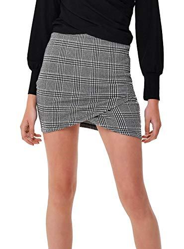 Only Onlnew Ria Skirt Noos, Rock Femme Noir
