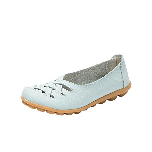 fereshte , Sandales Compensées femme - bleu ciel - bleu ciel,