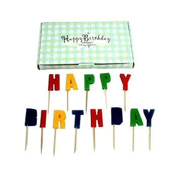 Amazon.com: Vela Feliz Cumpleaños Set Funda Pack 72: Baby