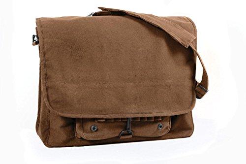 Rothco Vintage Canvas Paratrooper Bag, (Engineers Bag)