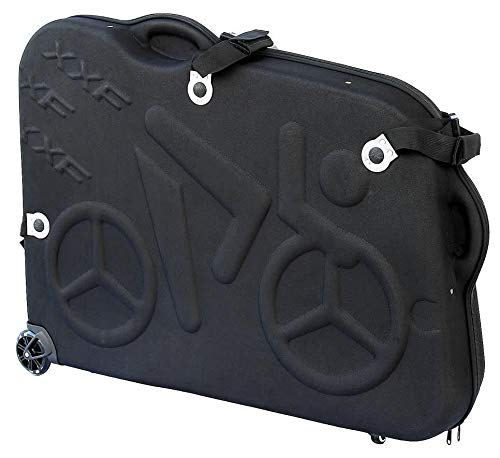"Hepburn's EVA Bike Travel Case for 26""/700C/27.5"" Mountain Road Bicycle Travel Transport Equipment Black"