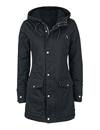 Welldressing Women's Early Winter Hooded Jackets Safari Long Outdoor Coats