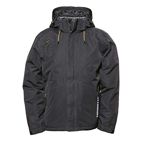 Caterpillar Men's Summit 3-in-1 Jacket, Black, Large by Caterpillar