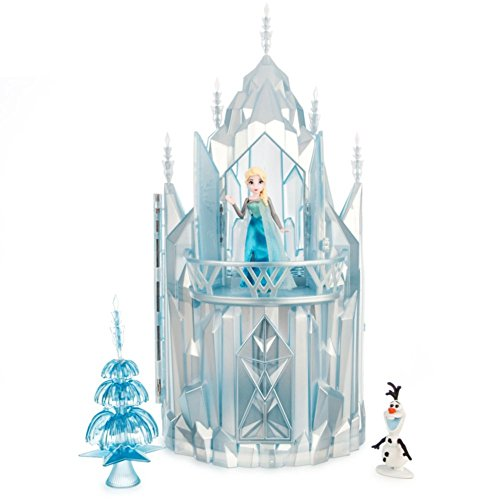 2014 Disney Frozen Elsa Musical Ice Castle Playset Olaf