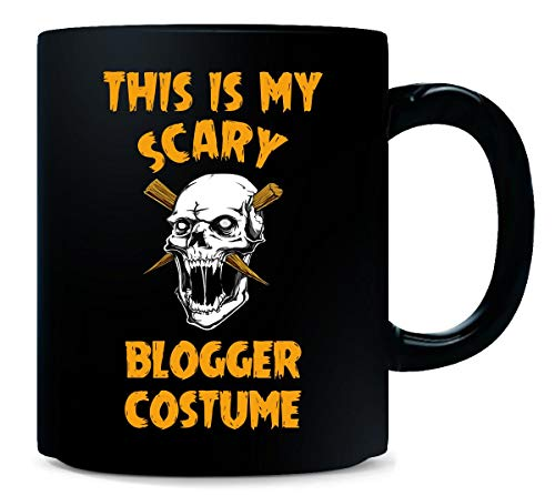 This Is My Scary Blogger Costume Halloween Gift - -