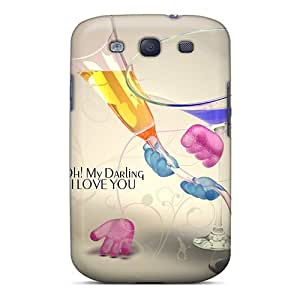 Galaxy S3 Case Bumper Tpu Skin Cover For Glassical Love Accessories
