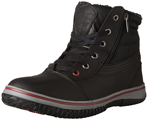 PAJAR Mens Tavin Boot, 40, Black Leather