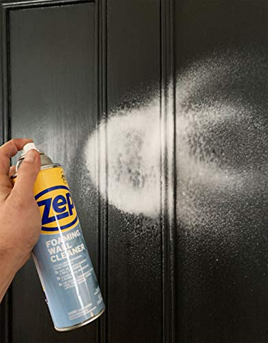 Zep Foaming Wall Cleaner ZUFWC18 (Pack of 2) - Cleans walls without damaging paint surfaces