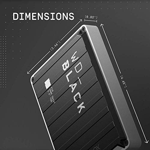 WD_Black 5TB P10 Game Drive for Xbox One, Portable External Hard Drive HDD with 1-Month Xbox Game Pass – WDBA5G0050BBK-WESN 41G7awyAQ 2BL
