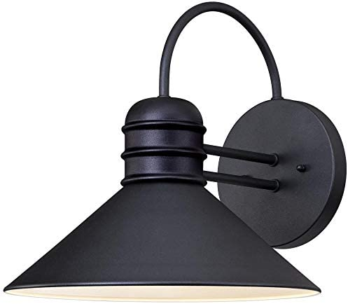 Westinghouse Lighting 6204400 Watts Creek Wall Lantern, Textured Black Finish on Steel Renewed
