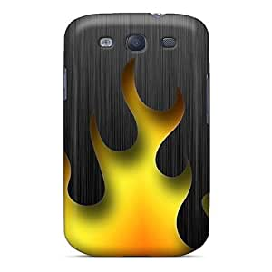 Tribal Fire Flip Case With Fashion Design For Case Samsung Galaxy S3 I9300 Cover