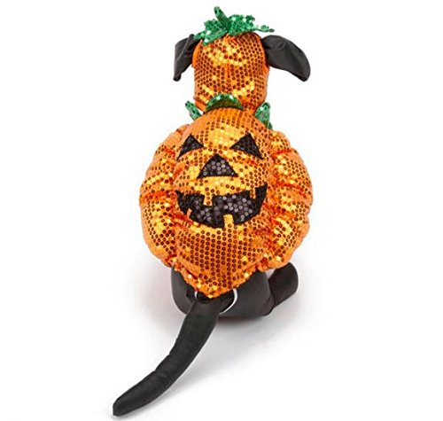 Sequin Pumpkin Dog Halloween Costume Large (Halloween Costume Photo Contest)