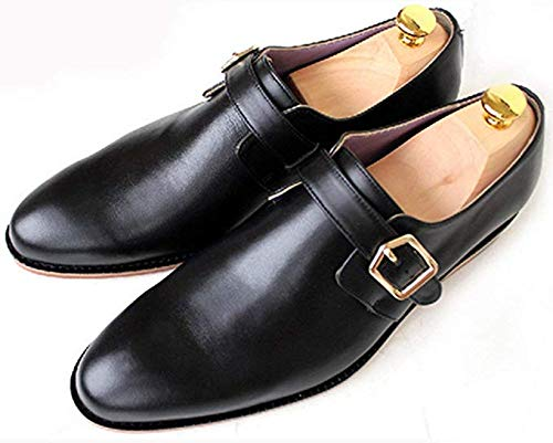 ColorJoy Cedar Wood Shoe Tree Mens Gents Shoes Tree Wooden Stretcher Shaper absorbs Moisture 1 Pair UK 6 7 8 9 10 11 Wooden UKsize3-4= EUSize35-36