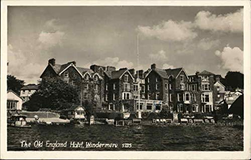 The Old England Hotel Windermere, England Original Vintage ()