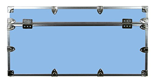 College Dorm Room & Summer Camp Lockable Trunk Footlocker with Wheels - Undergrad Trunk by C&N Footlockers - Available in 20 colors - Large: 32 x 18 x 16.5 Inches by C&N Footlockers (Image #4)