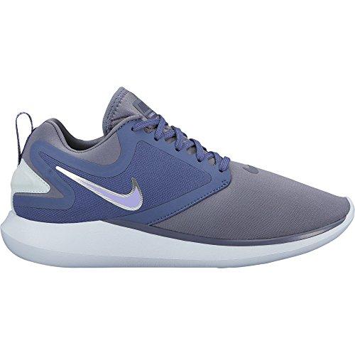 Nike Femmes Lunarsolo Chaussures De Course Lumière Carbone / Pourpre Impulsion-bleu Rappel