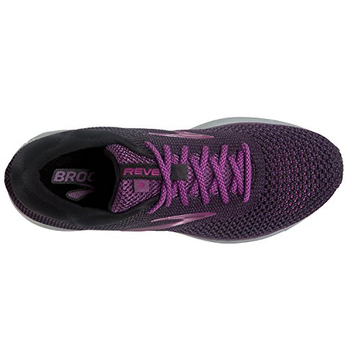 Gry BLK 7 2 BRK 080 PUR 4082750 Brooks 120281 Revel 1B Shoe Women's Running PwWqxBOzHq