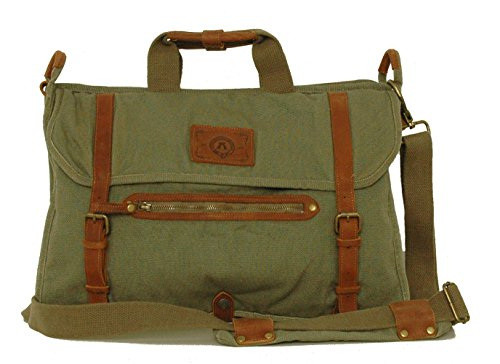 Kakadu Traders Laptop-Bag, made from Heavy Canvas