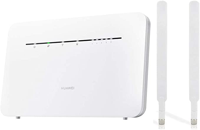 HUAWEI B535-232 Unlocked CAT 7 300mbps 4G/LTE Home/Office Router (White) plus 2 x External Antennas. Will work with any Sim Card Worldwide. VAT ...