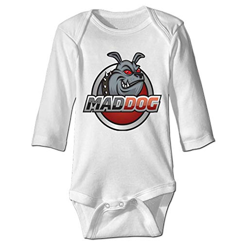 - shunshunfeng Infant Soft Pajama Creeper Fun Design Mad-Dog Bodysuits for Babies