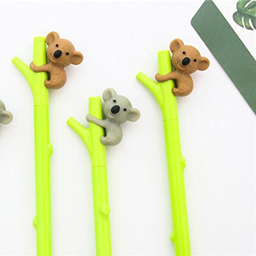 Nice Stationery - YJYdada Cartoon Animal Koala Cute Ballpoint Pen Gel Student Office Stationery Nice Gifts