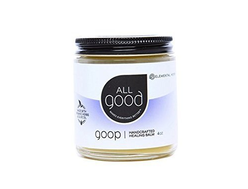 All Good Goop Organic Healing Balm & Ointment   For Dry Skin/Lips, Cuts, Scars, Blisters, Diaper Rash, Insect Bites, Sunburn, & More (4 oz) by All Good
