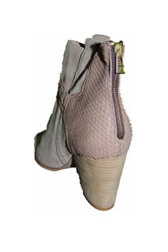 Freeman T Porter Boots Bottines (Botte Texane en Peau) First Quality Suede LAMINE PYTON Beige Jane T35 qFSOyfkKGG