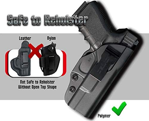 Cytac Inside the Waistband Concealed Carry Holster CY-IG19 Fits Glock 19 23 32