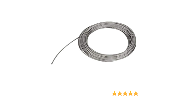 alambre de la cerca del alambre rollo kit 304 acero inoxidable M5 tensor tensor alambre de alambre de la cuerda de la ca/ída CHRORINE 24pcs jard/ín alambre cuerda