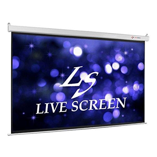 LIVE SCREEN 16:9 100インチ 電動格納 プロジェクタースクリーン B00SIR3T1Y