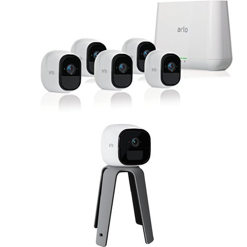 Arlo Pro Security System With Siren 5 Rechargeable